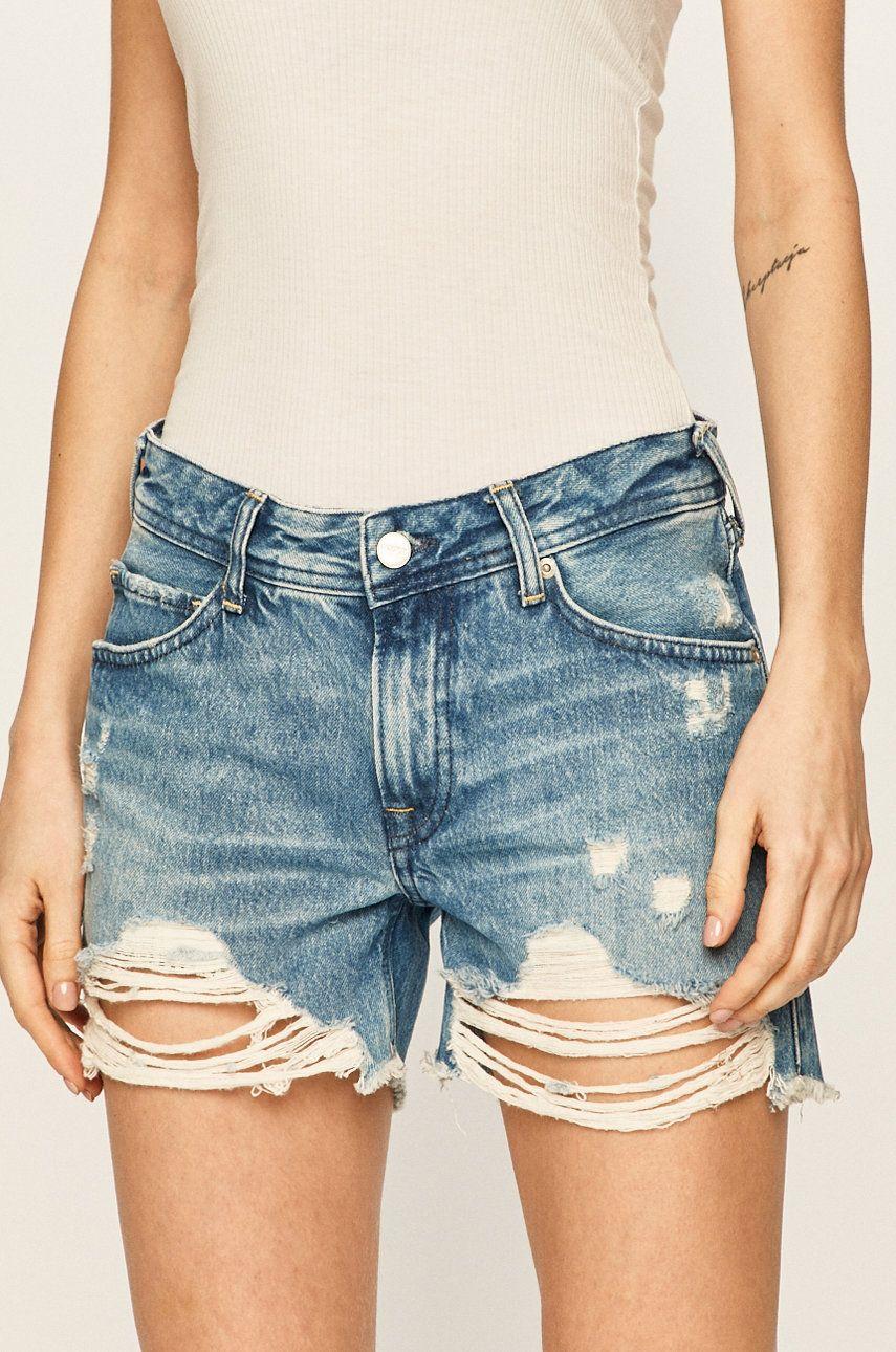 Pepe Jeans - Pantaloni scurti jeans Thrasher Blues