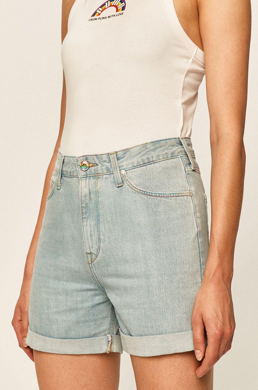 Lee - Pantaloni scurti jeans