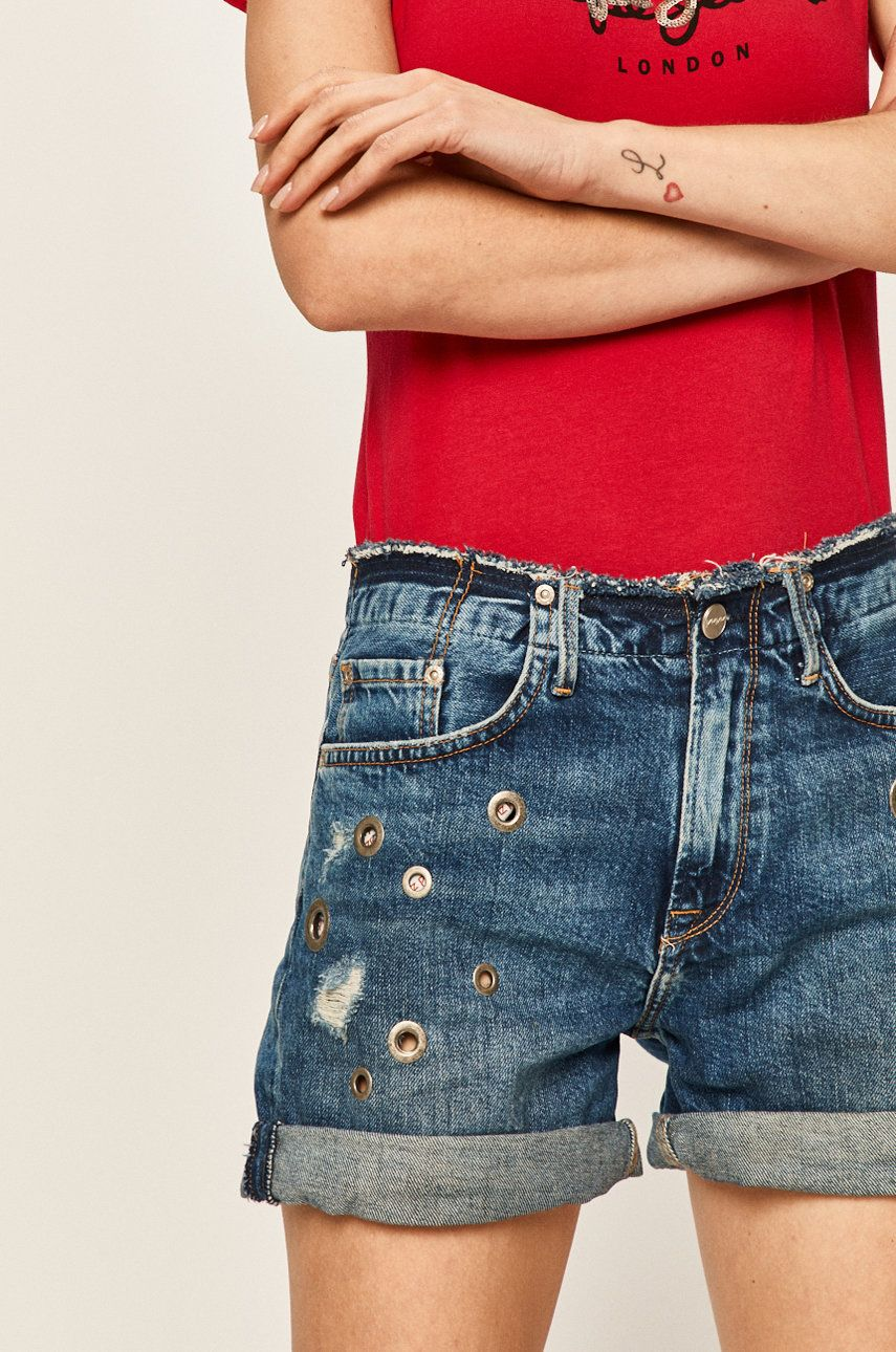 Pepe Jeans - Pantaloni scurti jeans Mary Short Revire