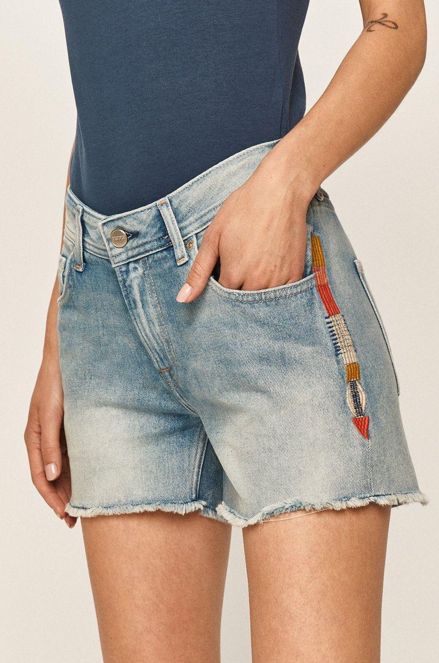 Pepe Jeans - Pantaloni scurti jeans Thrasher Rainbow