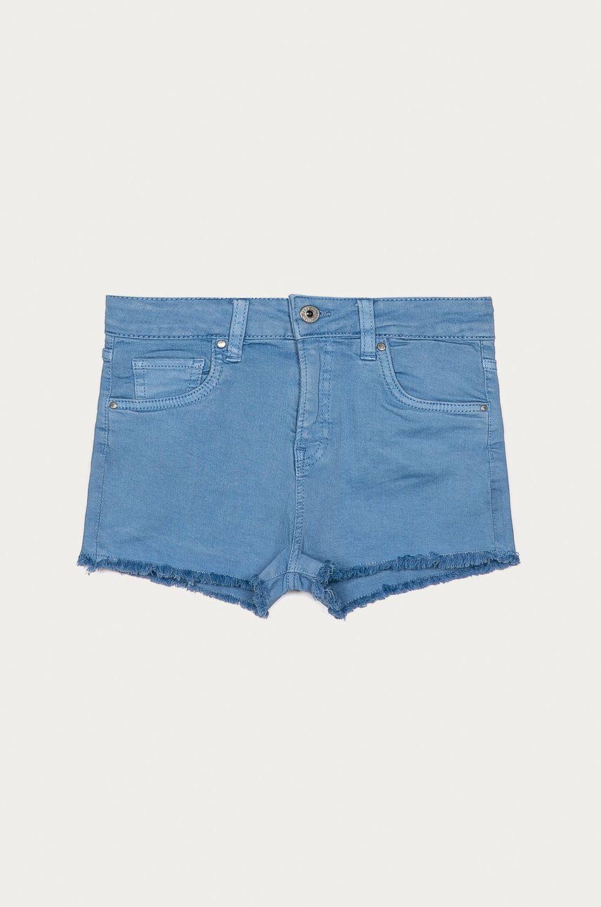 Pepe Jeans - Pantaloni scurti copii Patty 128-180 cm imagine answear.ro 2021