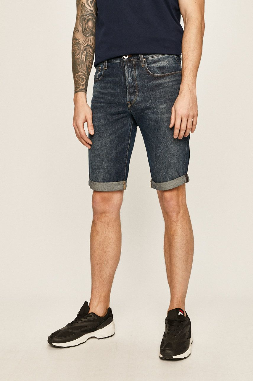 G-Star Raw - Pantaloni scurti jeans imagine 2020