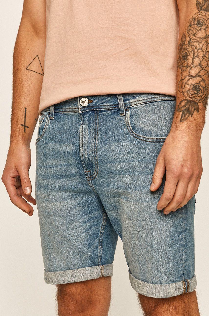 Produkt by Jack & Jones - Pantaloni scurti jeans imagine answear.ro 2021