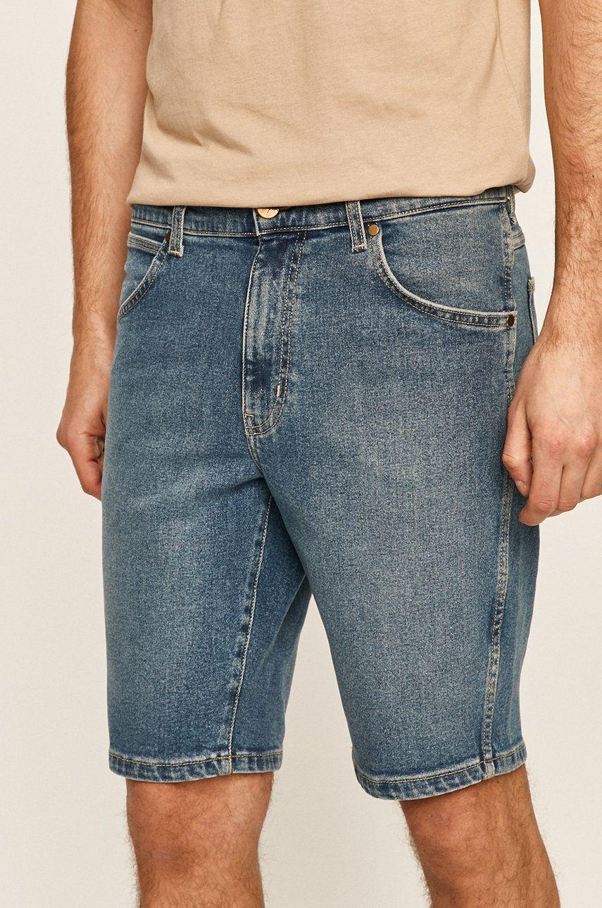 Wrangler - Pantaloni scurti jeans