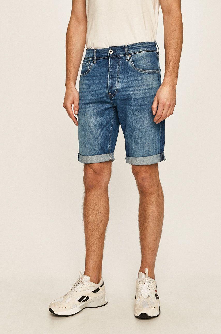 Pepe Jeans - Pantaloni scurti jeans Callen poza answear