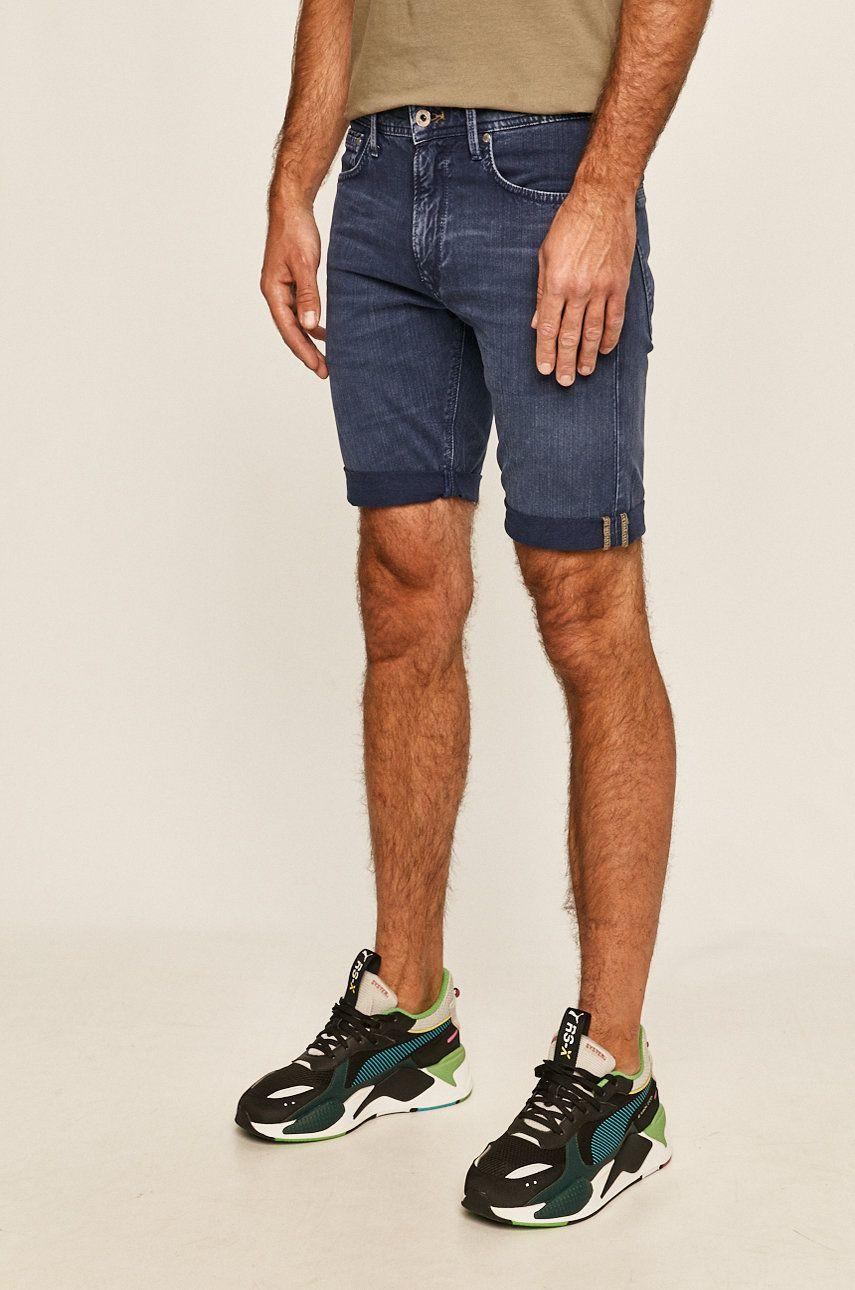 Pepe Jeans - Pantaloni scurti jeans Stanley Short