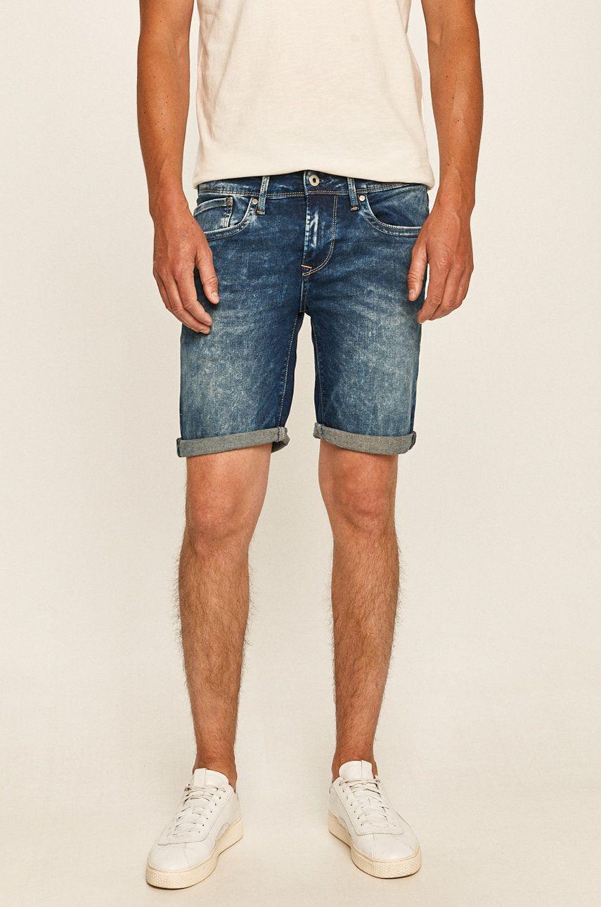 Pepe Jeans - Pantaloni scurti jeans Hatch