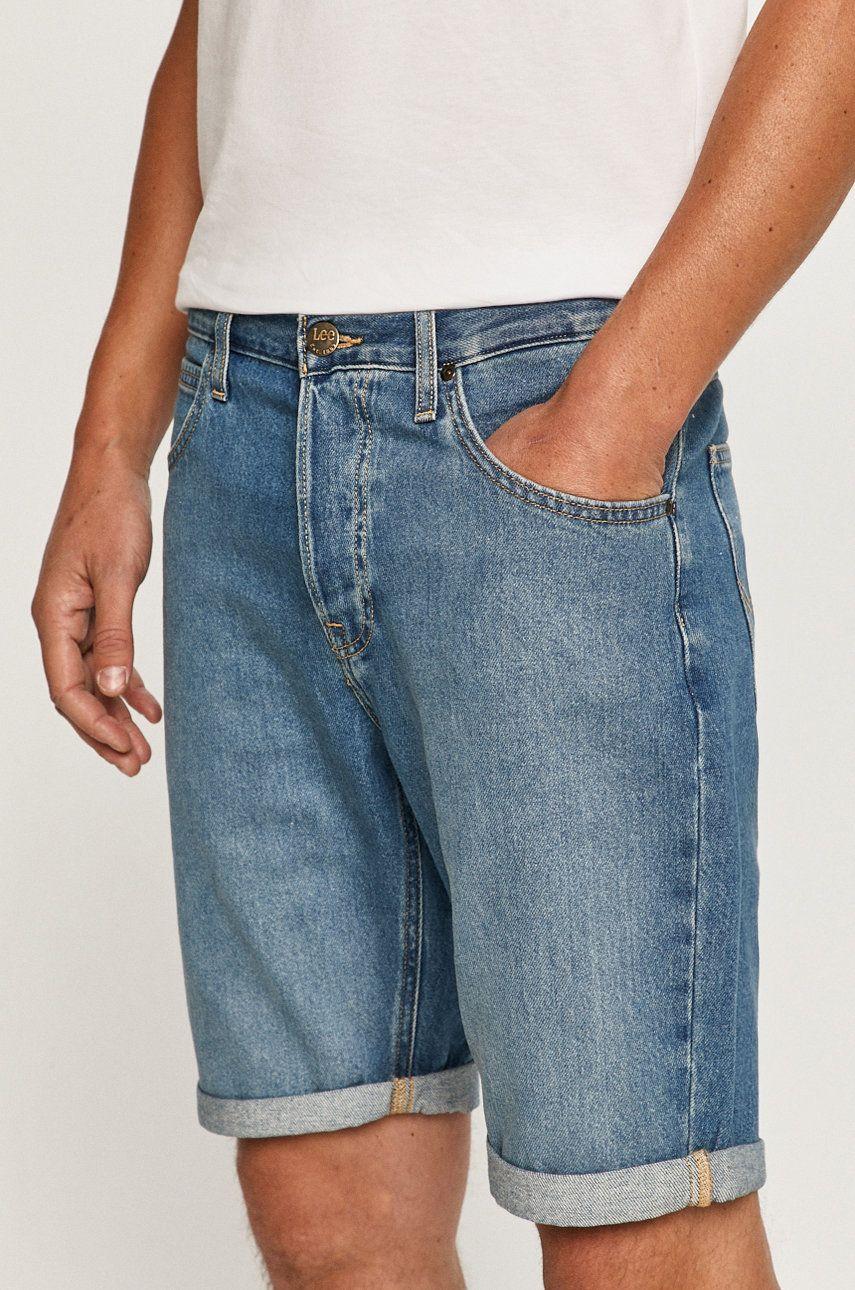 Lee - Pantaloni scurti jeans imagine 2020