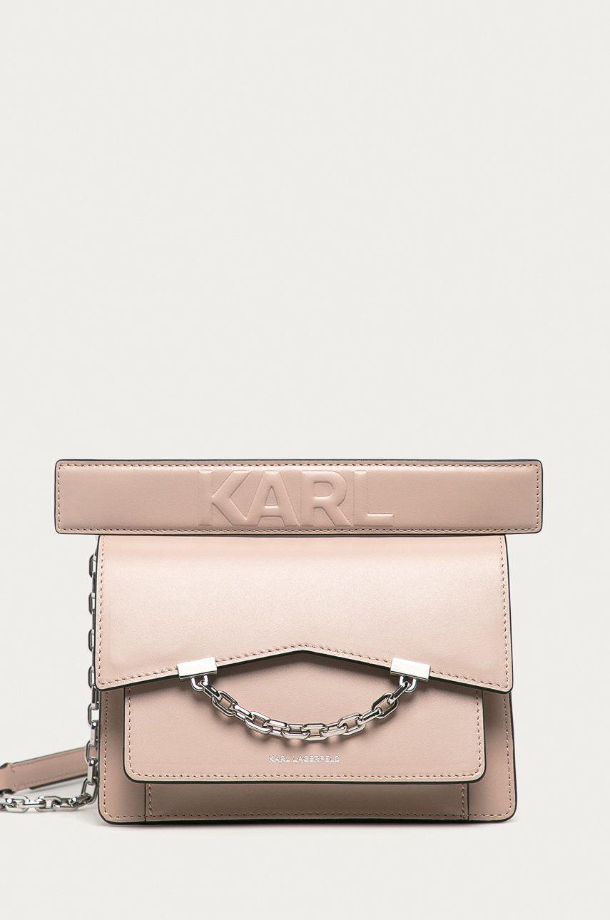 Karl Lagerfeld - Poseta de piele poza answear