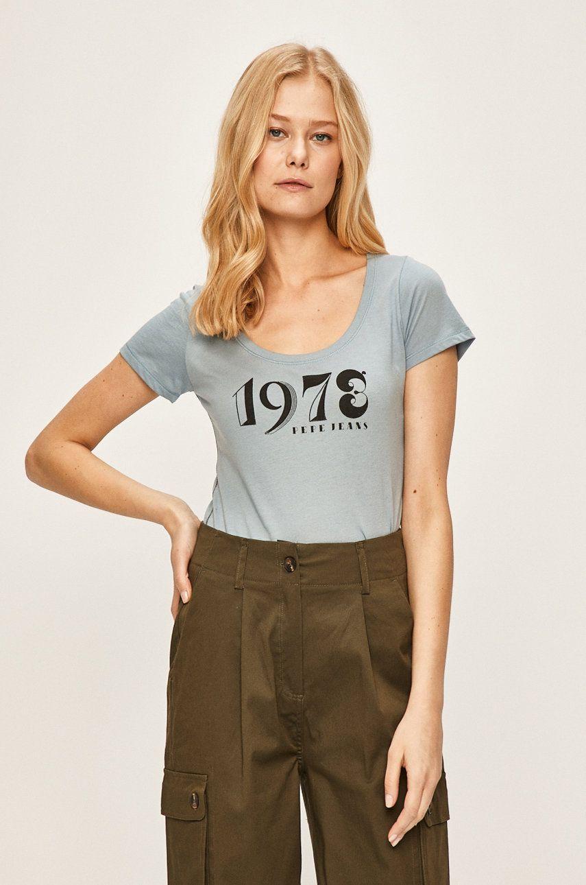 Pepe Jeans - Tricou Caieta