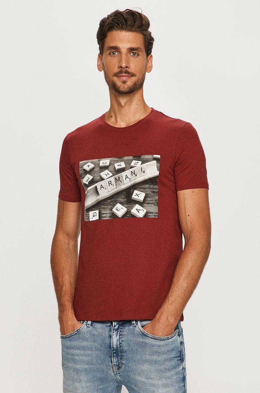 Armani Exchange - Tricou imagine 2020