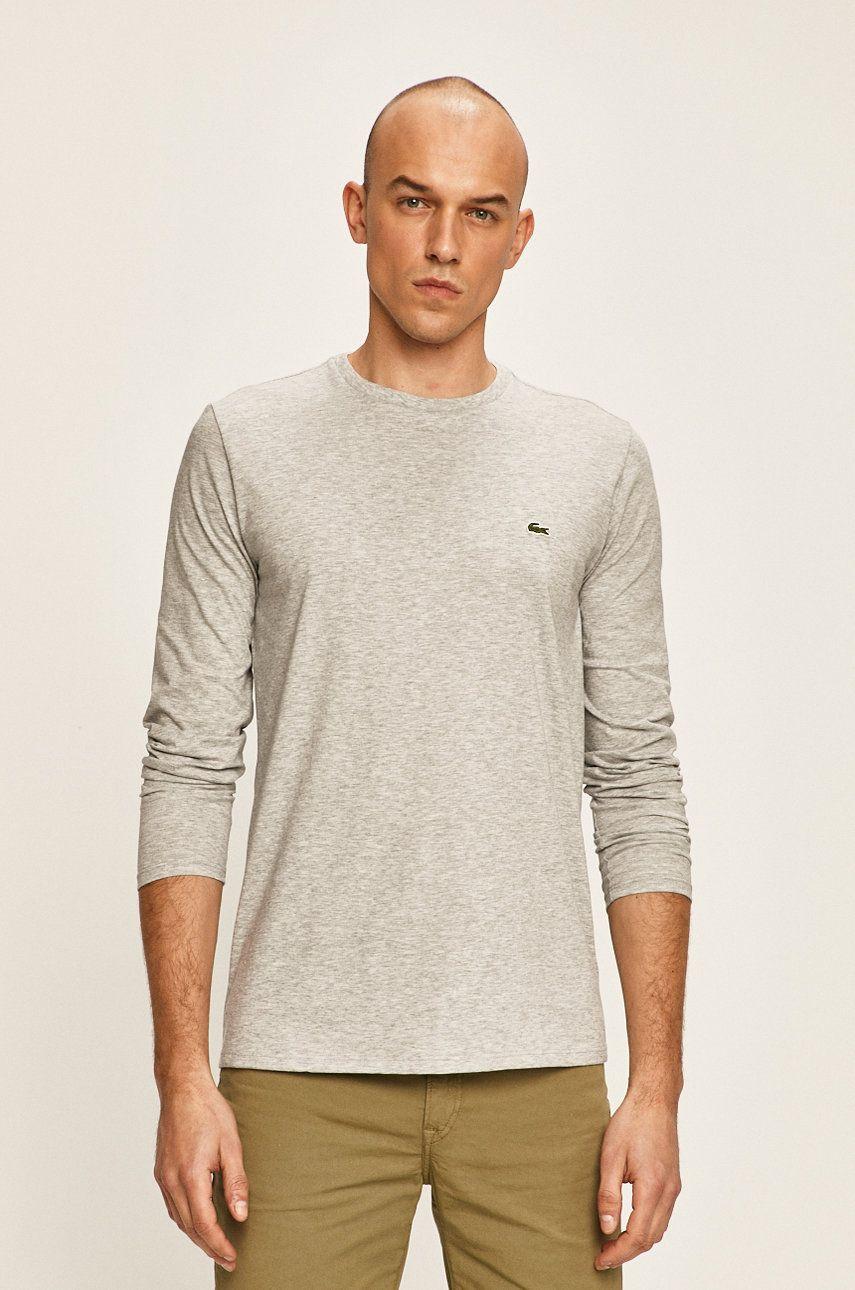 Lacoste - Pánske tričko s dlhým rukávom