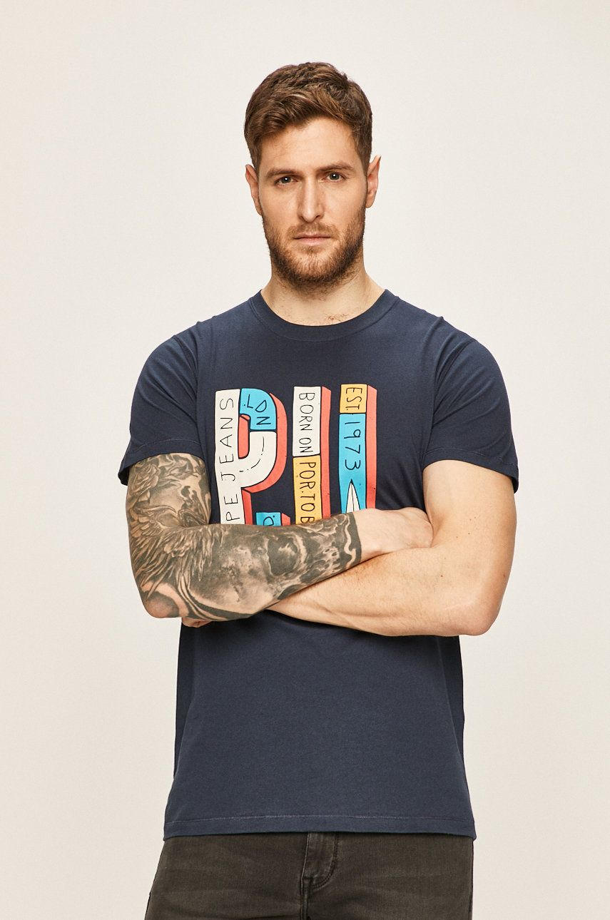 Pepe Jeans - Tricou SAMPSON