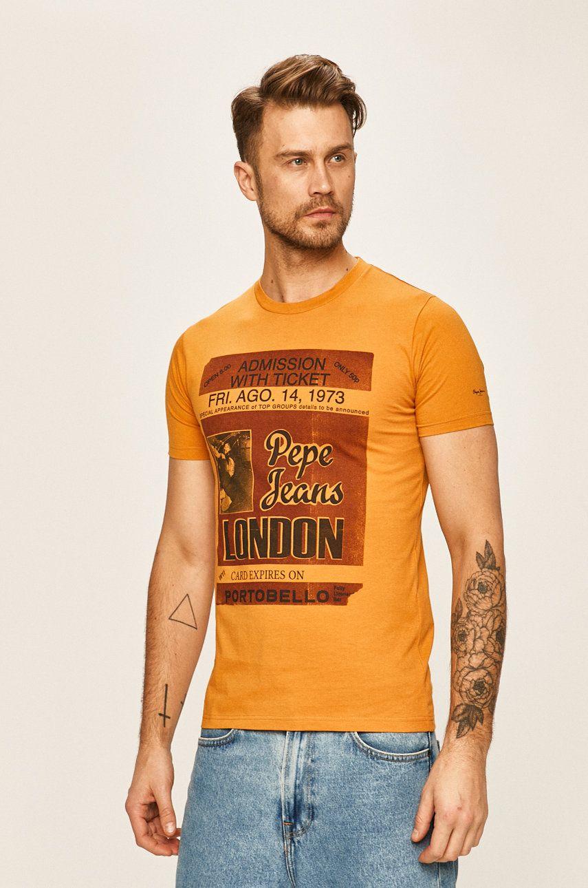 Pepe Jeans - Tricou Derek