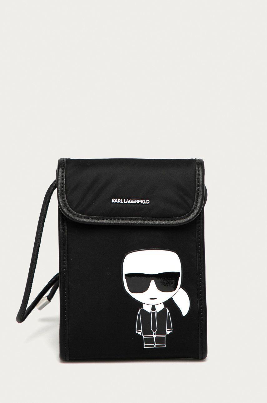 Karl Lagerfeld - Etui pentru telefon imagine answear.ro