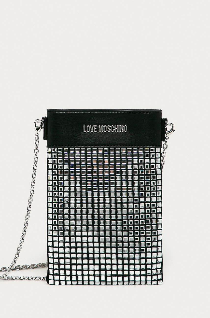 Love Moschino - Carcasa de telefon imagine answear.ro 2021