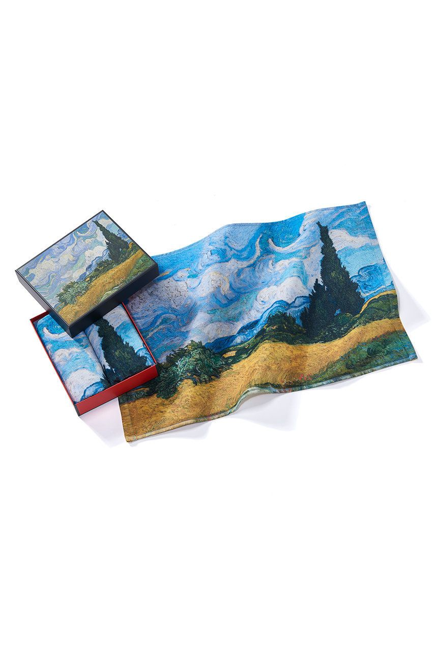 MuseARTa - Prosop Vincent van Gogh - Wheatfield with Cypresses (2-Pack)