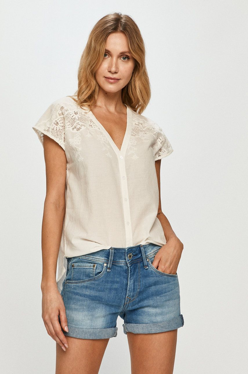 Pepe Jeans - Bluza din bumbac Nicola
