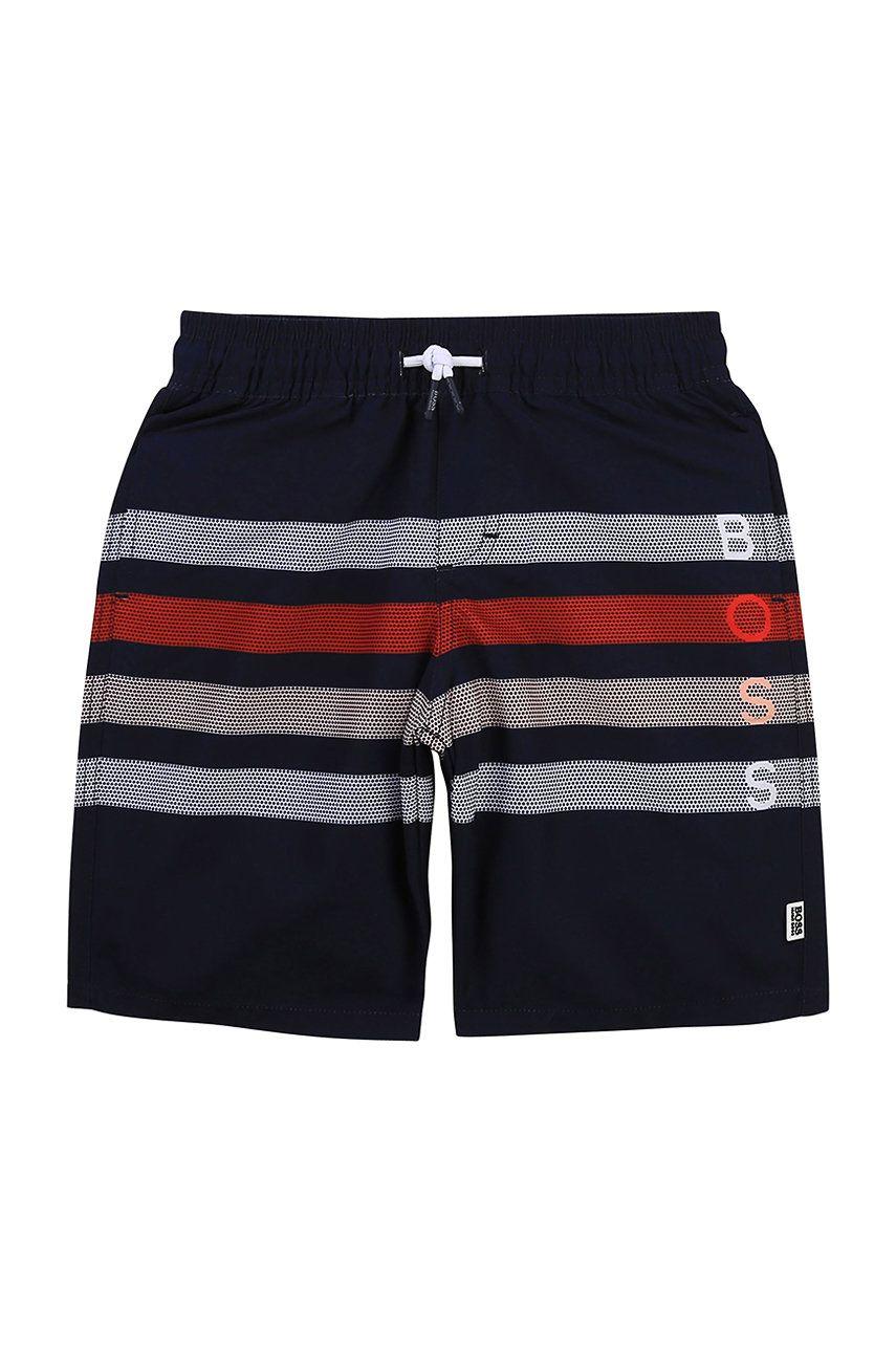Boss - Pantaloni scurti de baie copii imagine answear.ro 2021