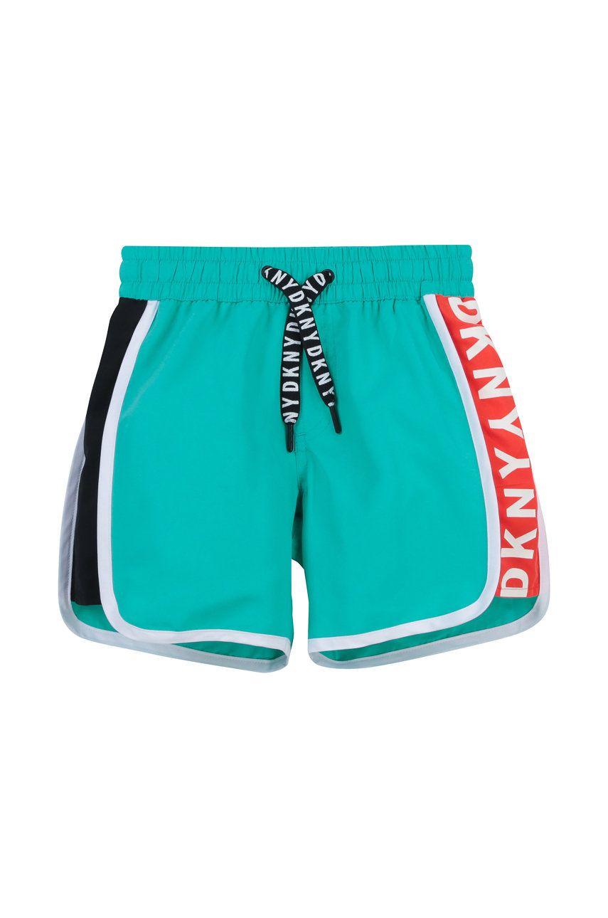 Dkny - Pantaloni scurti de baie copii imagine answear.ro 2021