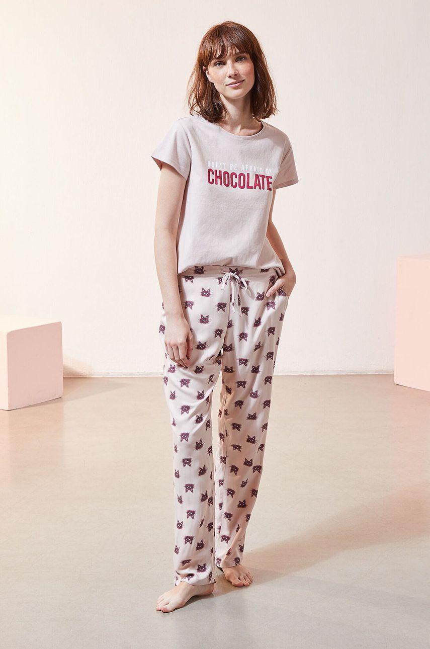 Etam - T-shirt piżamowy Foco