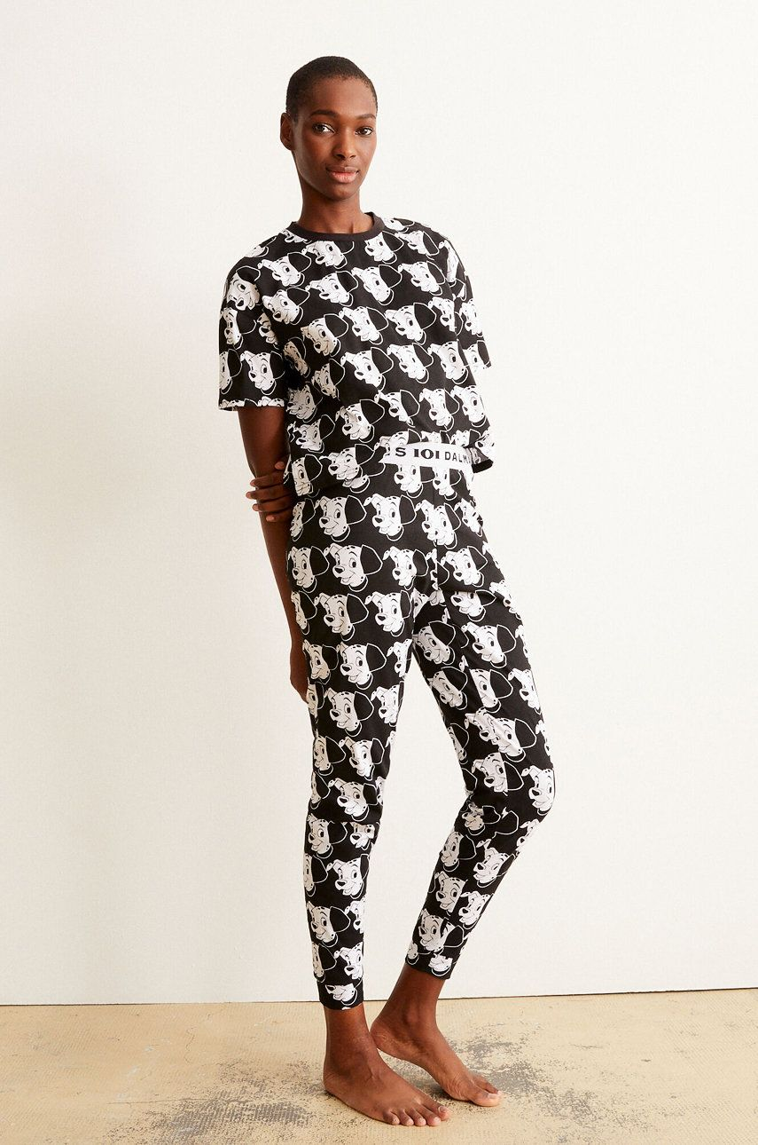 Undiz - Tricou de pijama BICODALMIZ