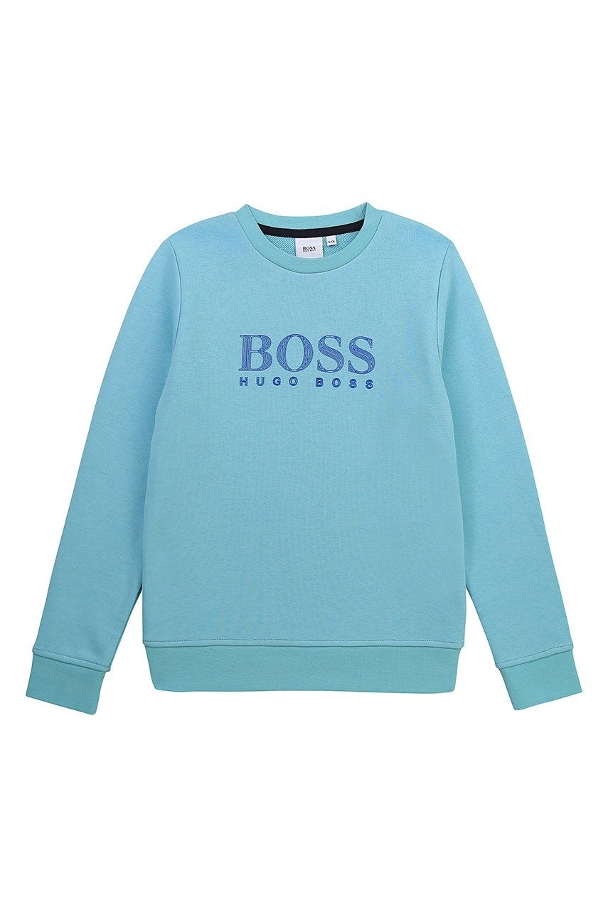 Boss - Bluza copii imagine answear.ro