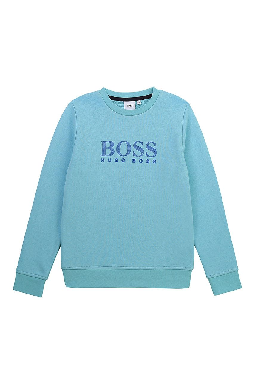 Boss - Bluza copii imagine answear.ro 2021