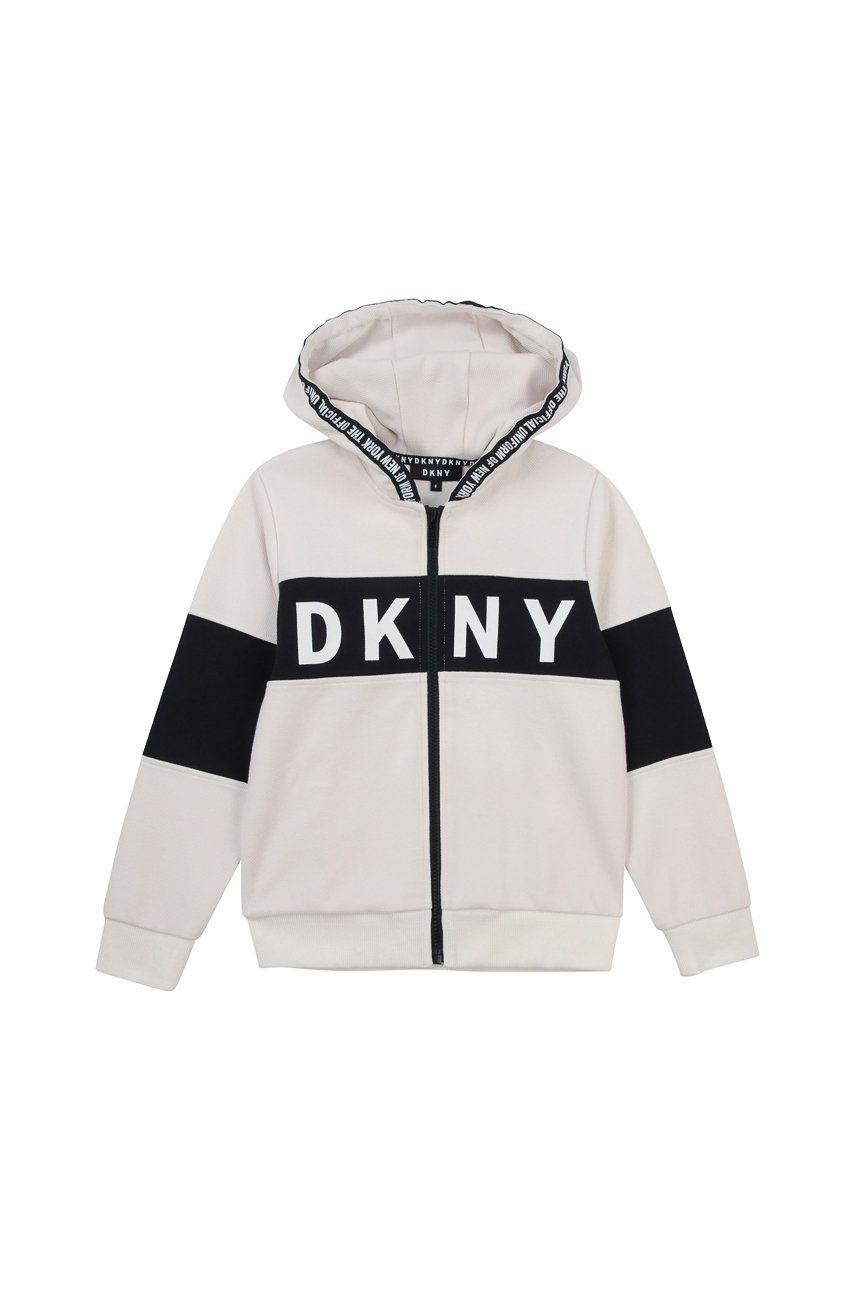Dkny - Bluza copii imagine answear.ro 2021