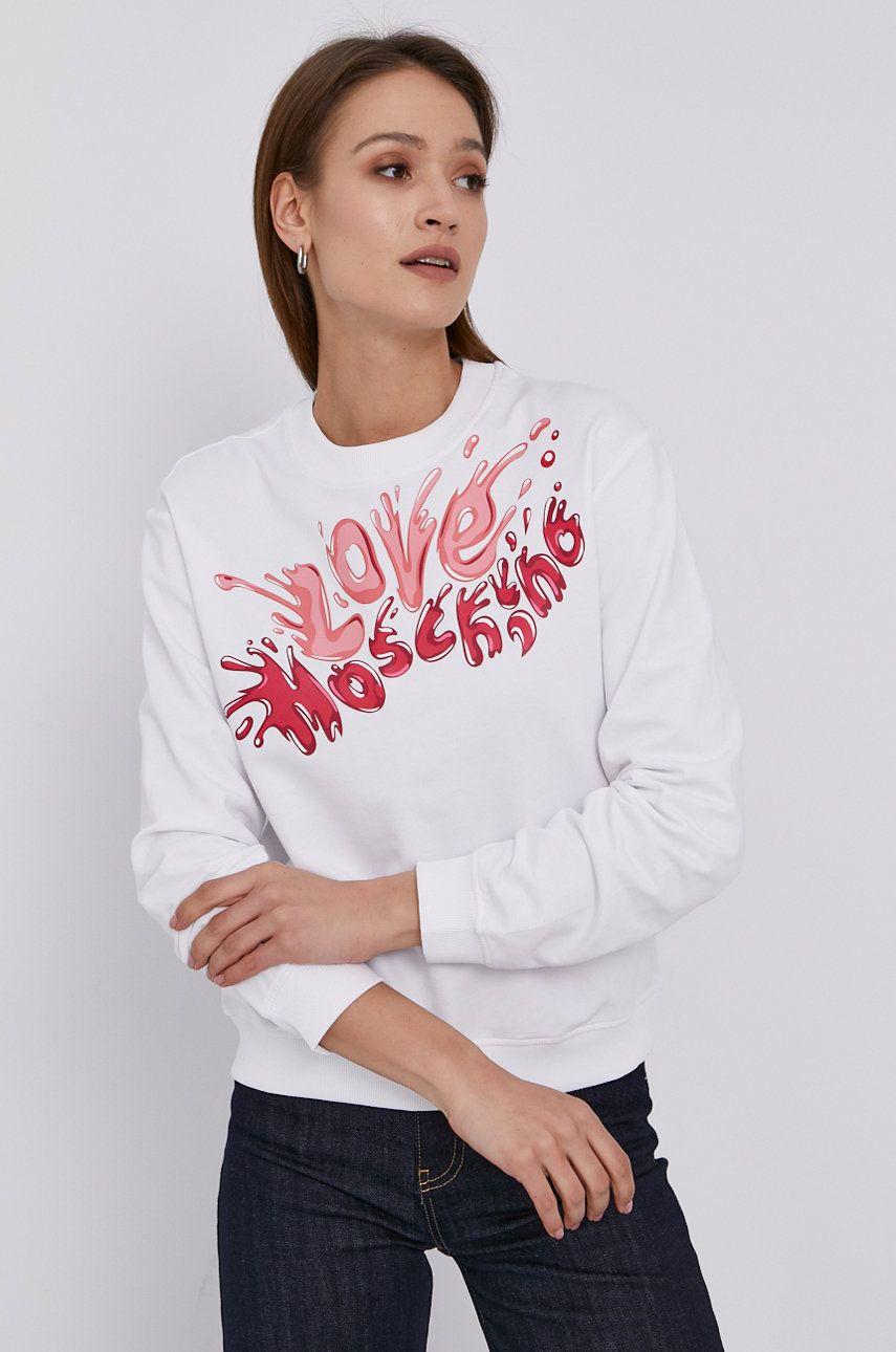 Love Moschino - Bluza din bumbac