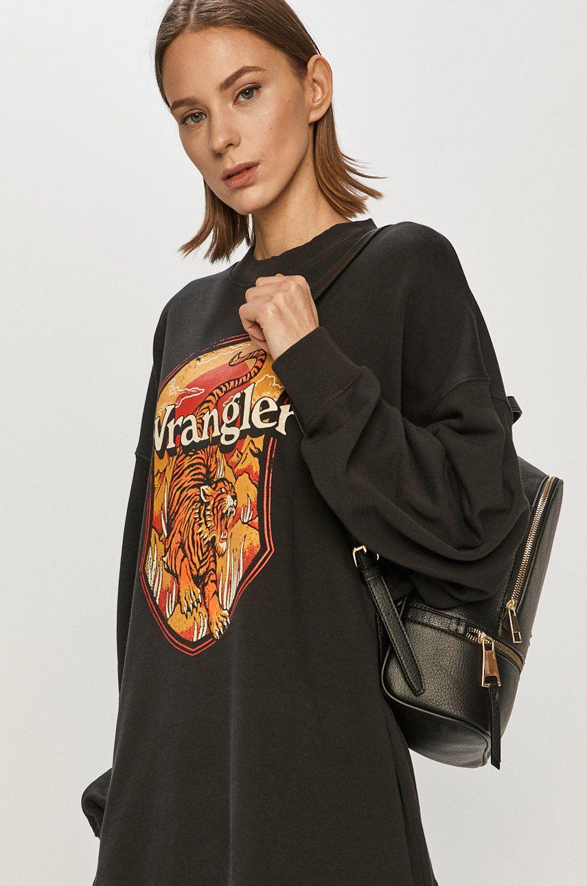 Wrangler - Hanorac de bumbac