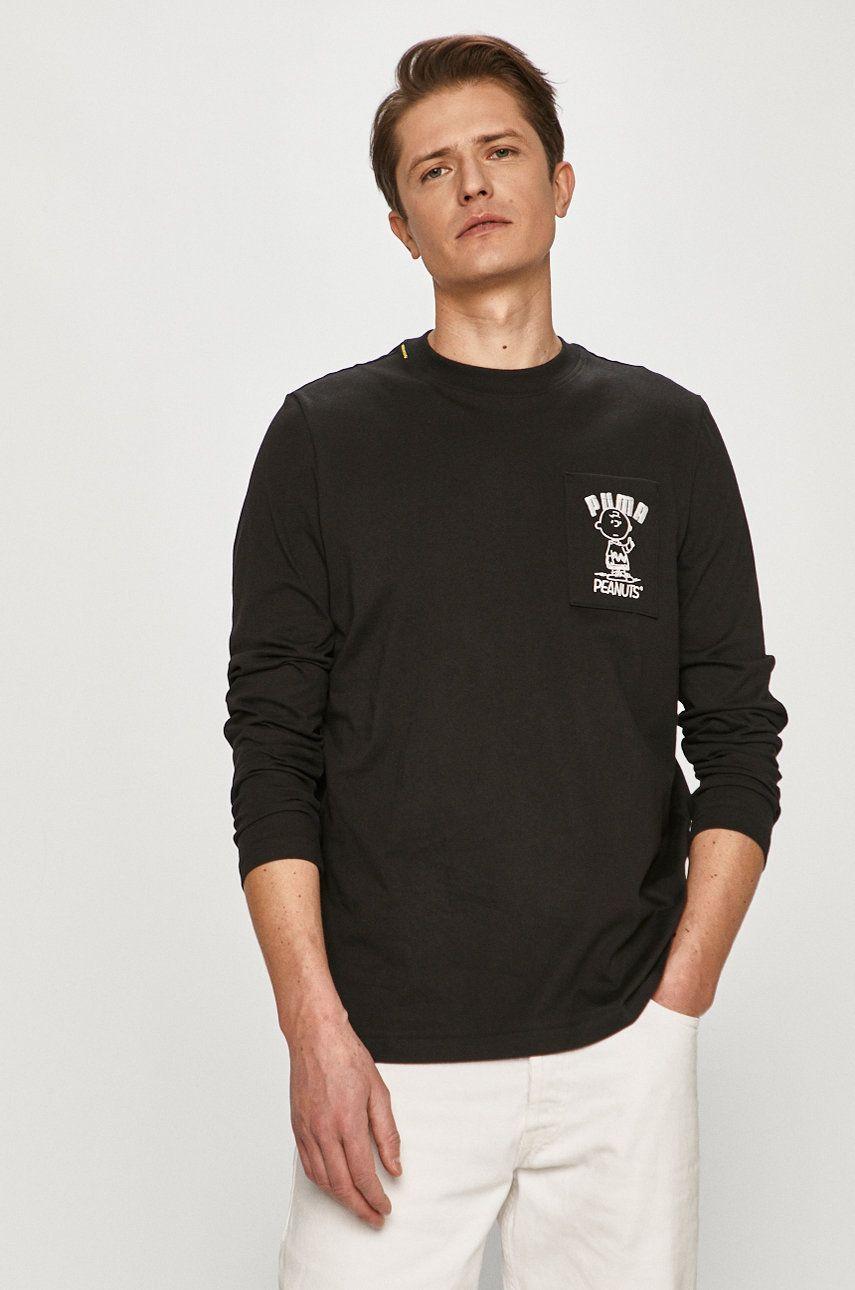 Puma - Tričko s dlhým rukávom x Peanuts LS