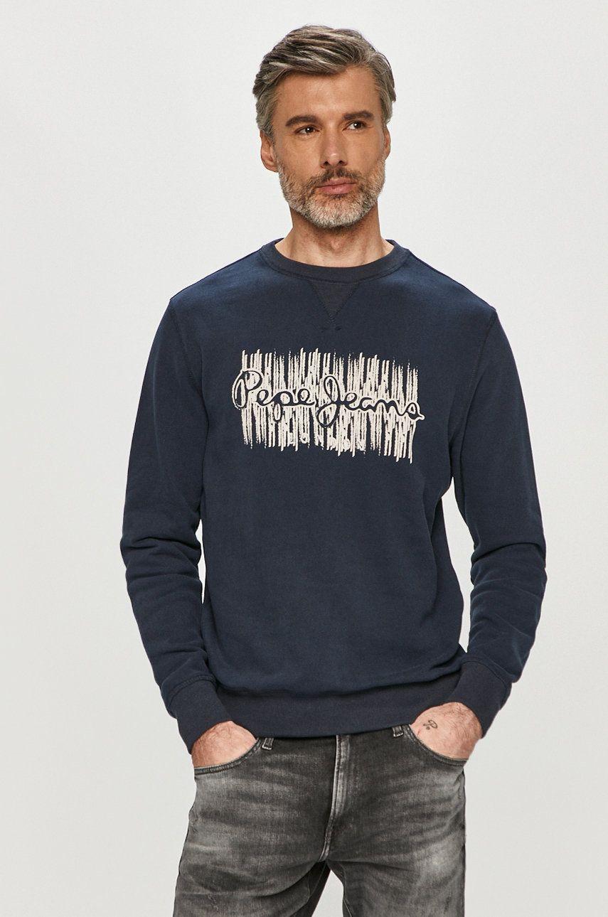 Pepe Jeans - Hanorac de bumbac Aivin imagine