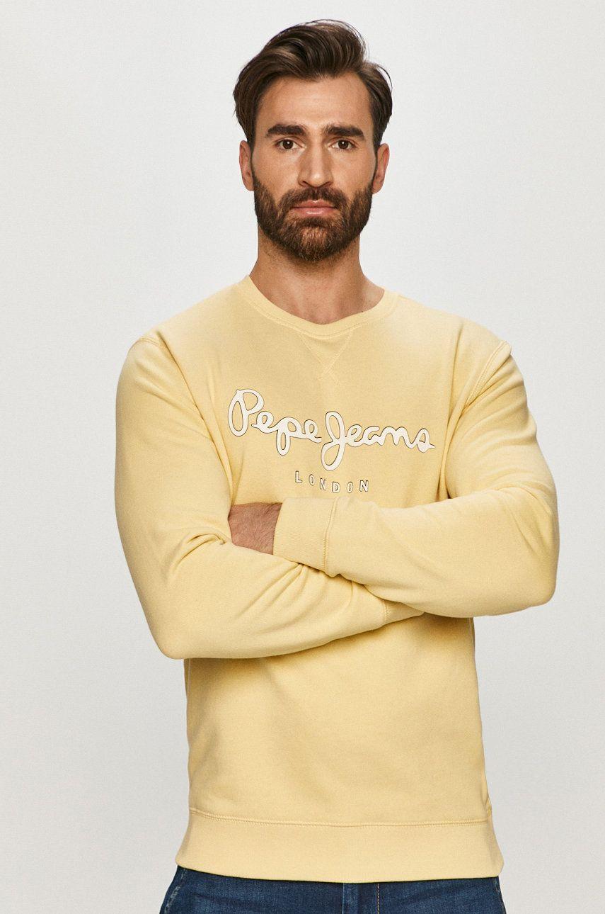 Pepe Jeans - Hanorac de bumbac George answear.ro