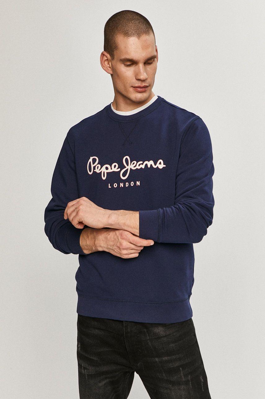 Pepe Jeans - Hanorac de bumbac George imagine