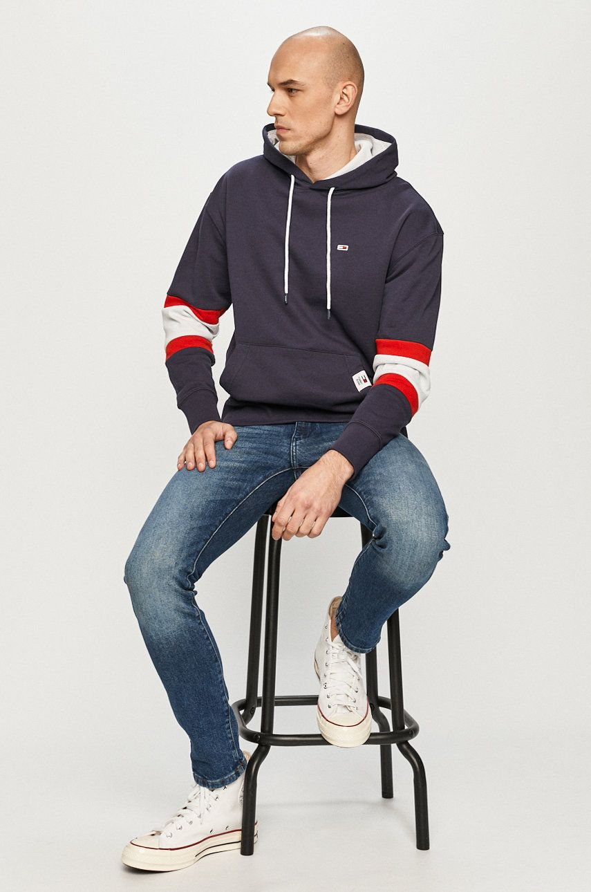 Tommy Jeans - Hanorac de bumbac imagine