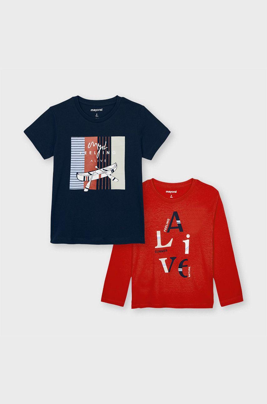 Mayoral - Sada - Tričko s dlhým rukávom a detské tričko