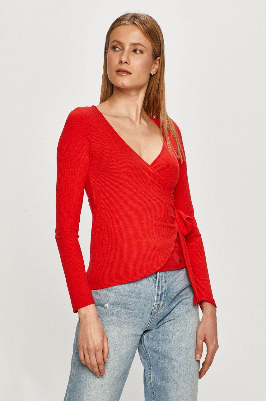 Pepe Jeans - Bluza Bianca imagine answear.ro 2021