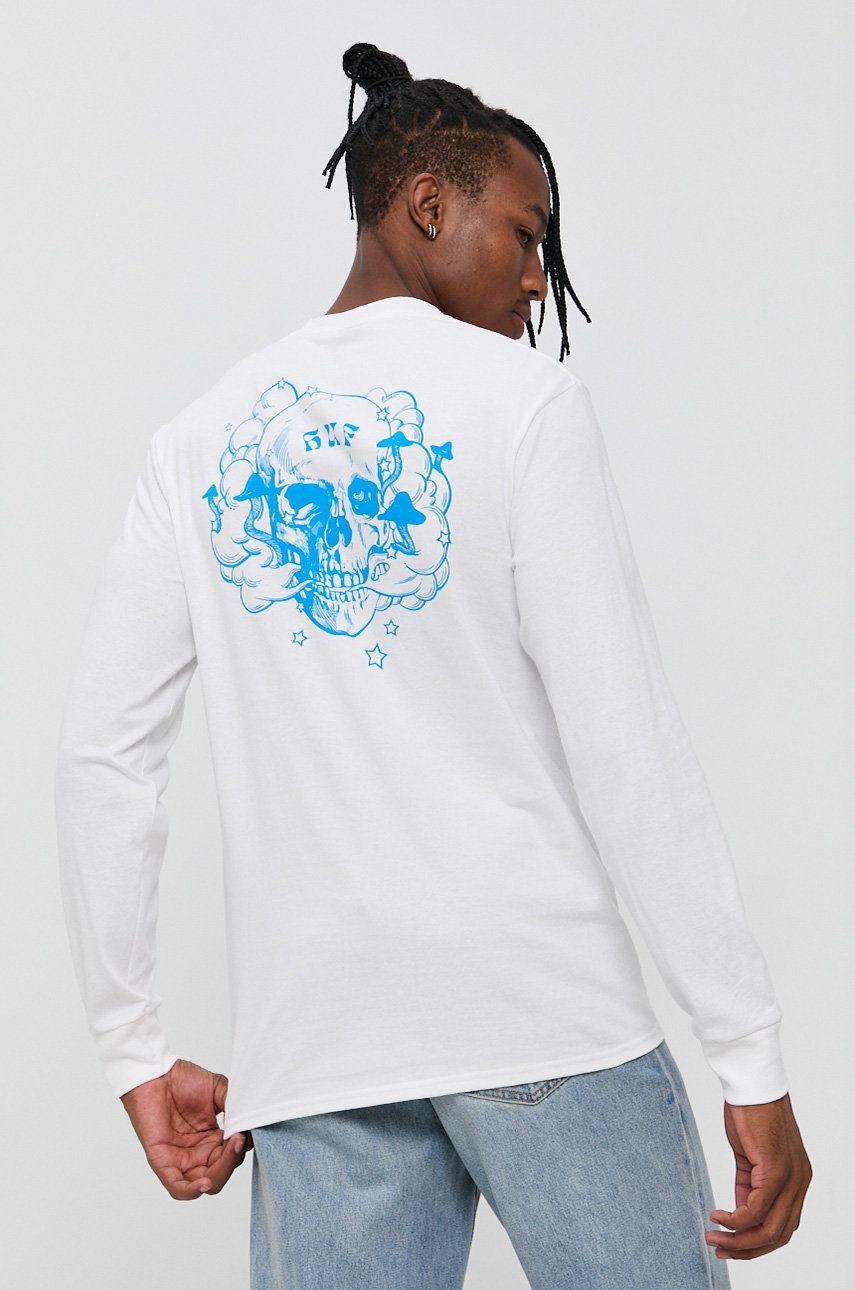 HUF - Bavlnené tričko s dlhým rukávom