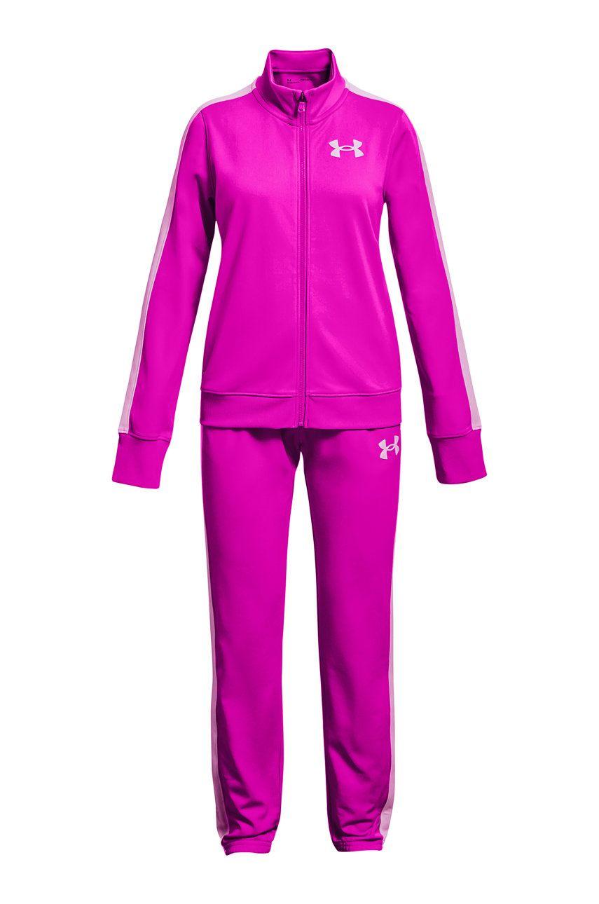 Under Armour - Compleu copii Knit Track Suit imagine answear.ro 2021