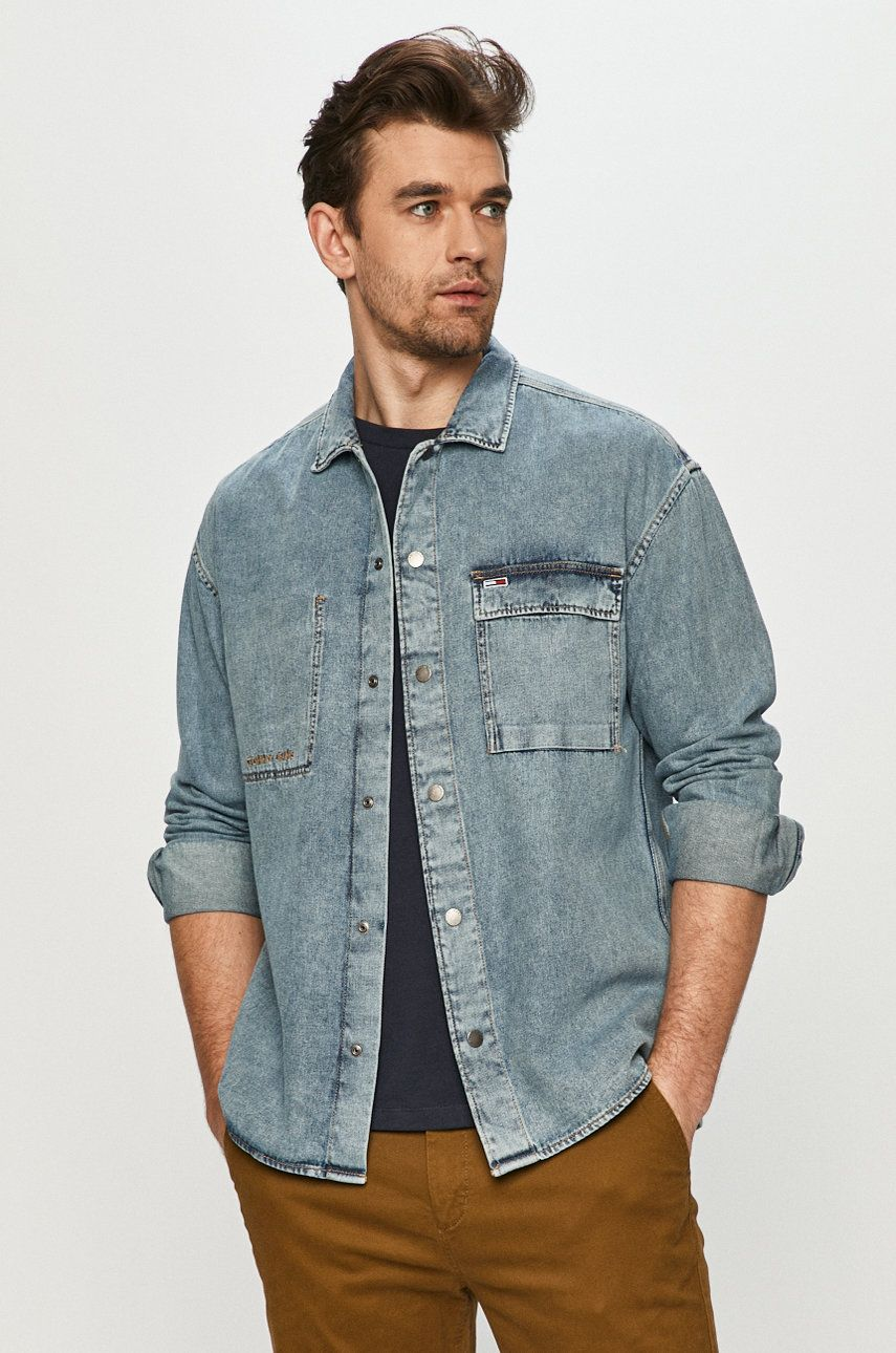 Tommy Jeans - Camasa jeans imagine answear.ro