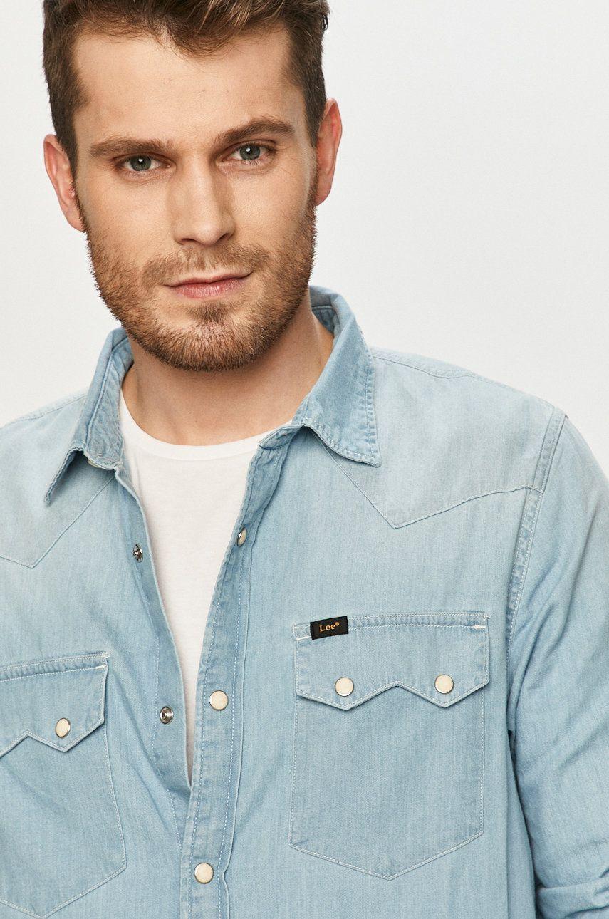 Lee - Camasa jeans imagine answear.ro