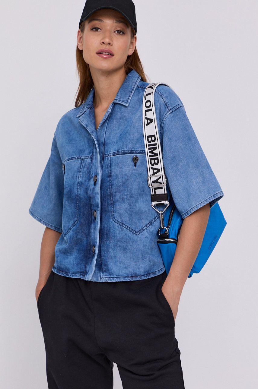 BIMBA Y LOLA - Camasa jeans