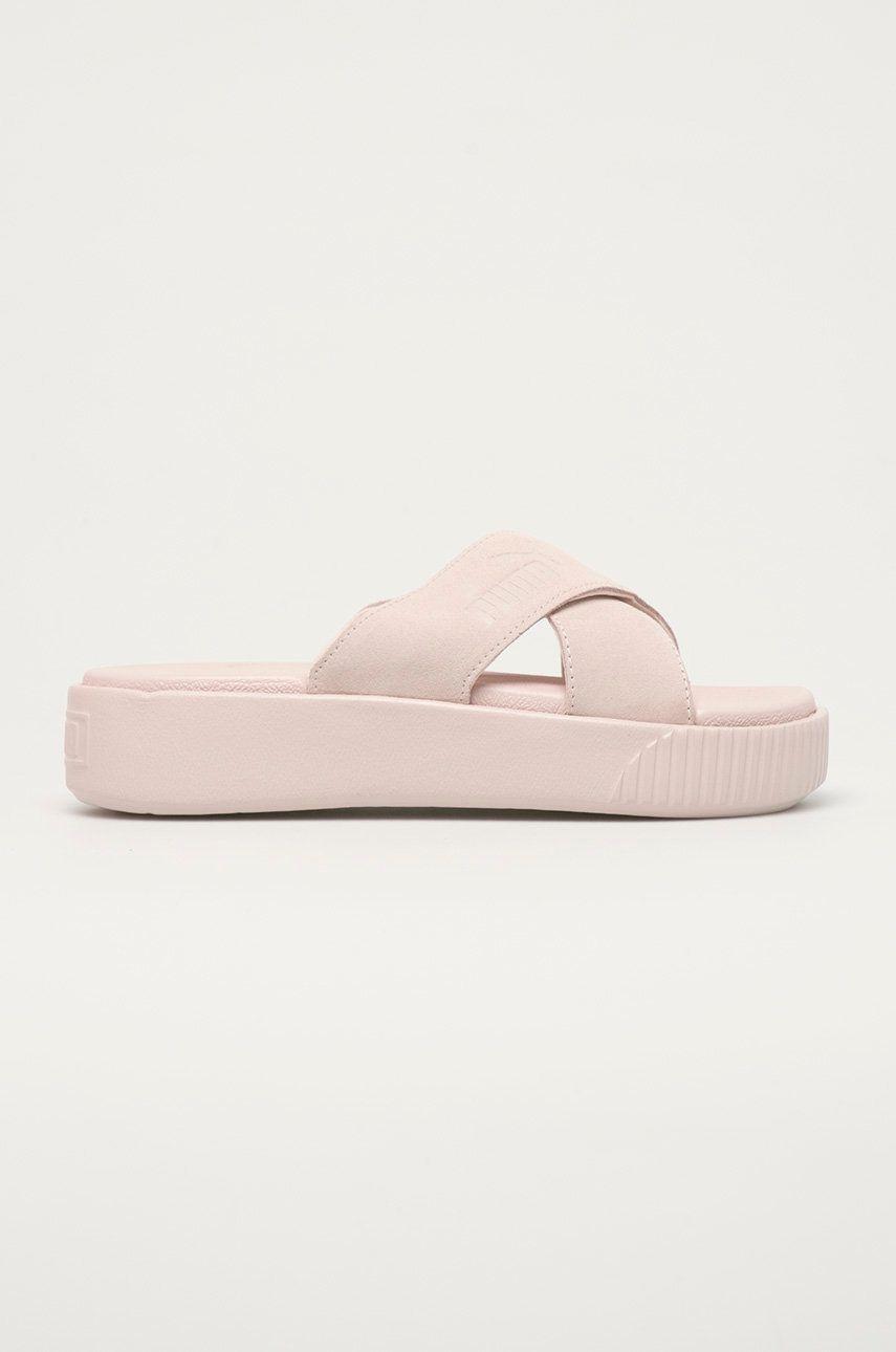 Puma - Papuci din piele