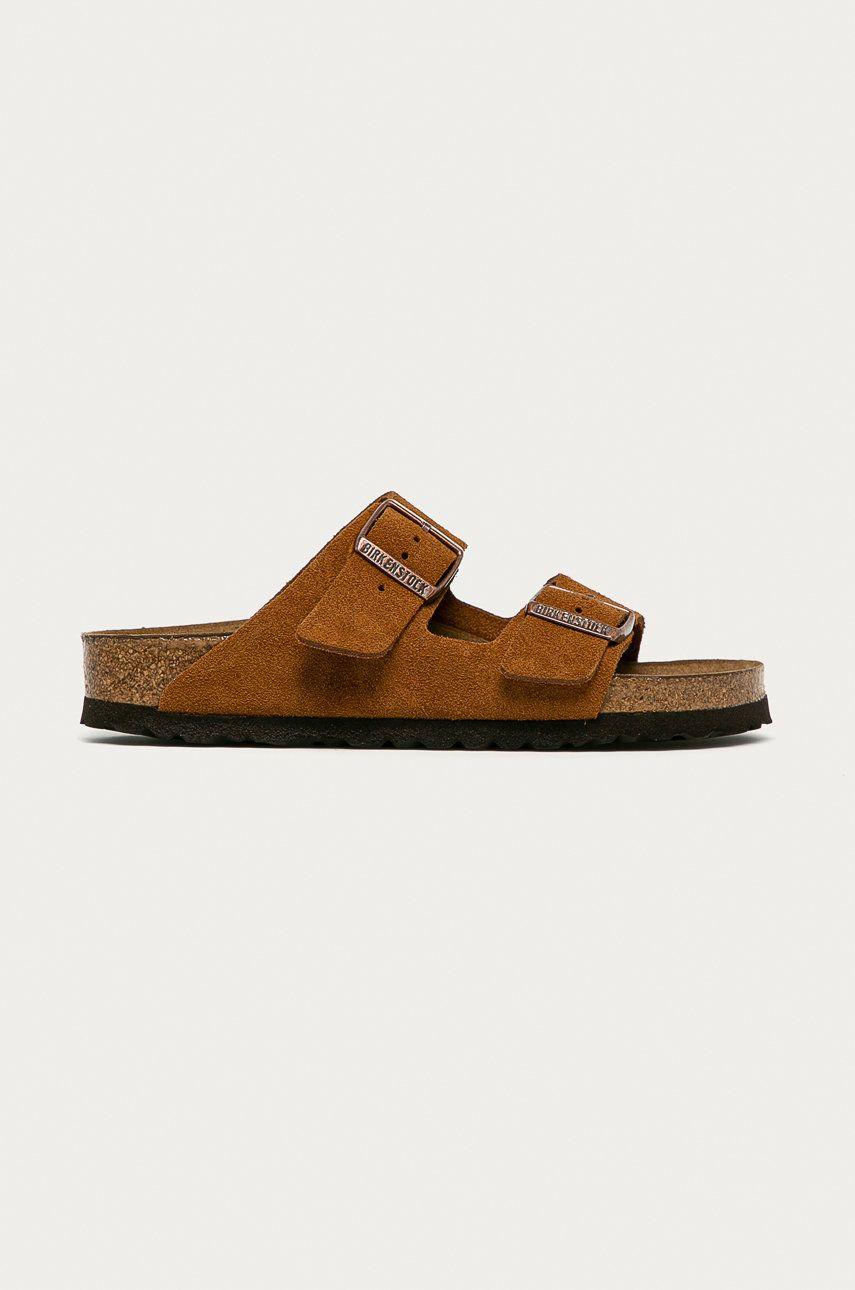 Birkenstock - Papuci din piele Arizona