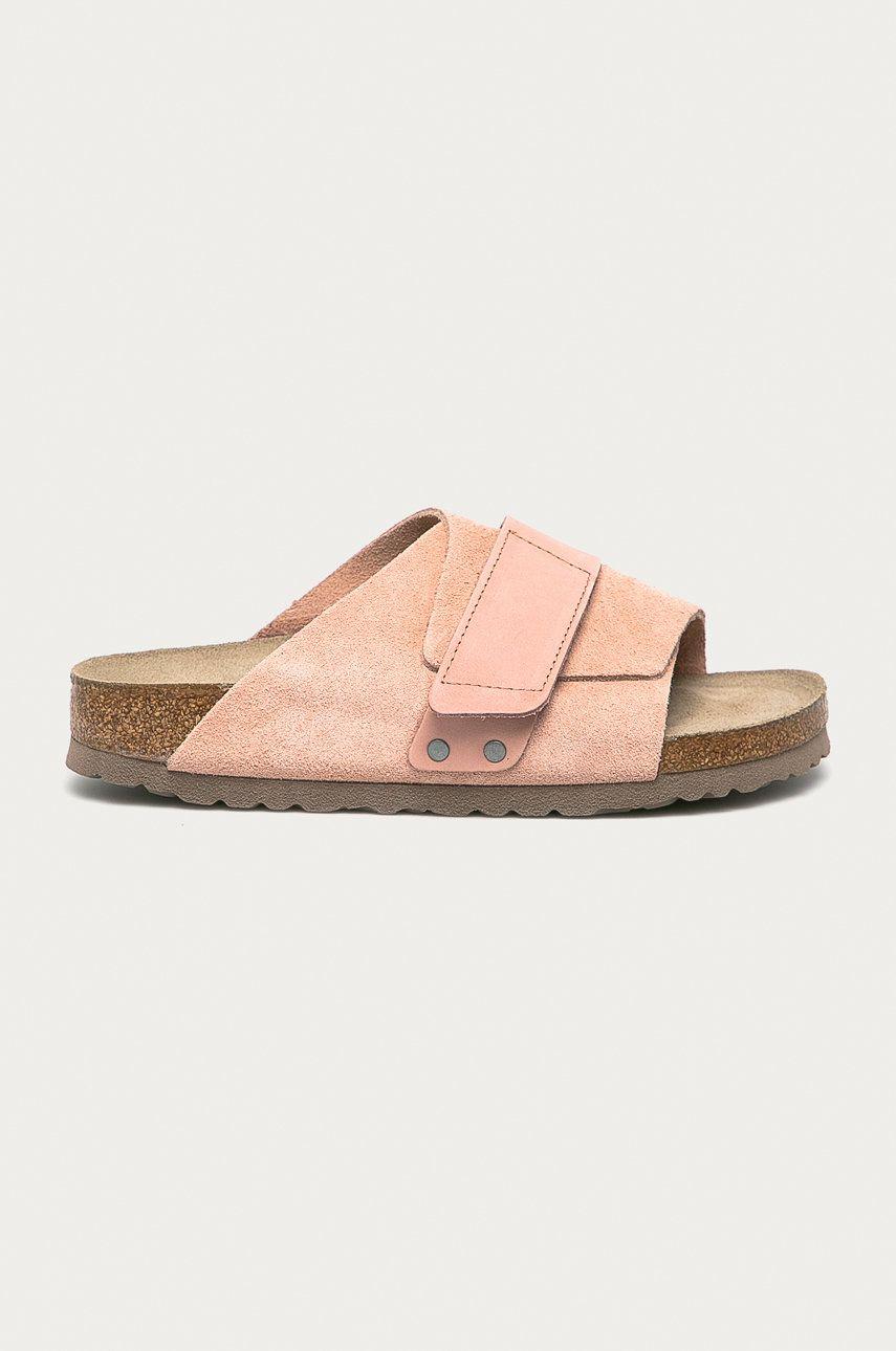 Birkenstock - Papuci din piele Kyoto