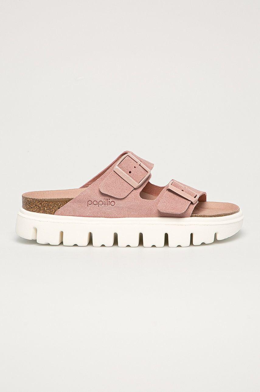 Birkenstock - Papuci din piele Arizona VL