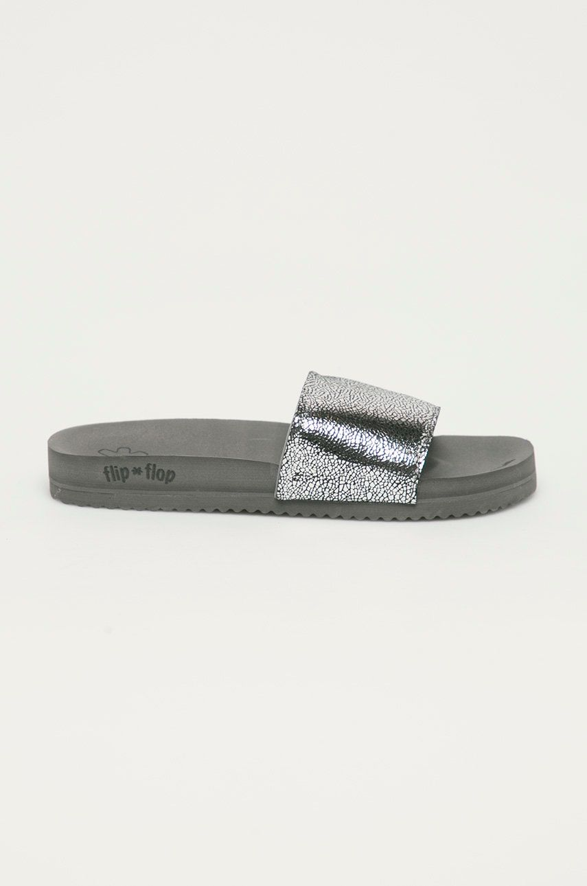 Flip*Flop - Papuci Metallic cracked imagine answear.ro 2021