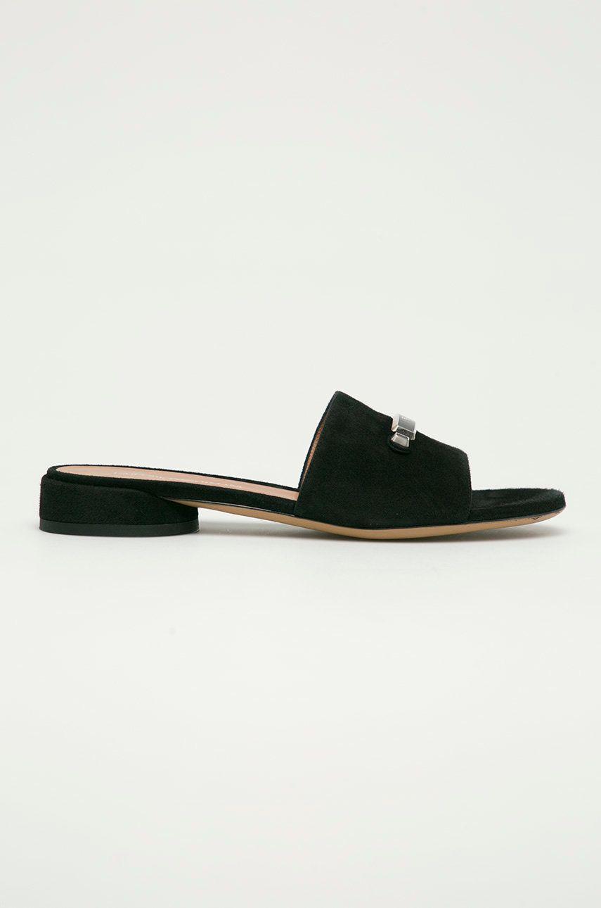 Emporio Armani - Papuci din piele