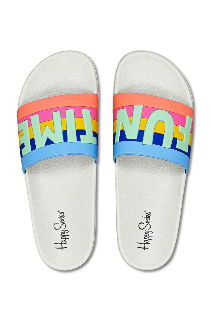 Happy Socks - Papuci Pool Slider Fun Time